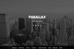 پوسته پارالاکس parallax