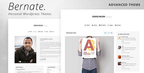 Bernate - Personal WordPress Theme