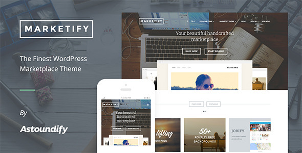 Marketify - Marketplace WordPress Theme